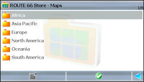 Map Folders in Route66 Store