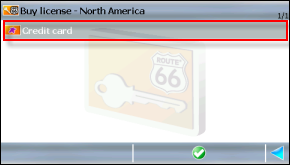 Credit Card prompt