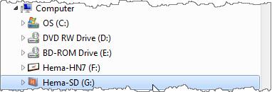 Windows Explorer tree