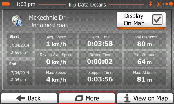 Trip Data Details